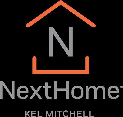 NextHome Kel Mitchell - Vertical Logo